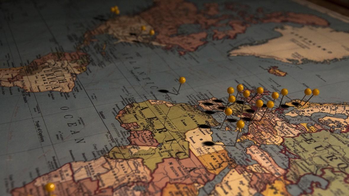 Reizen door Europa