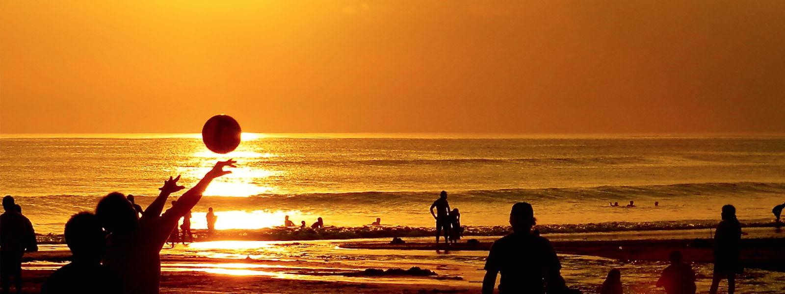 Groepsreis Bali - zonsondergang